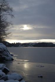 Is på Nordåsvannet